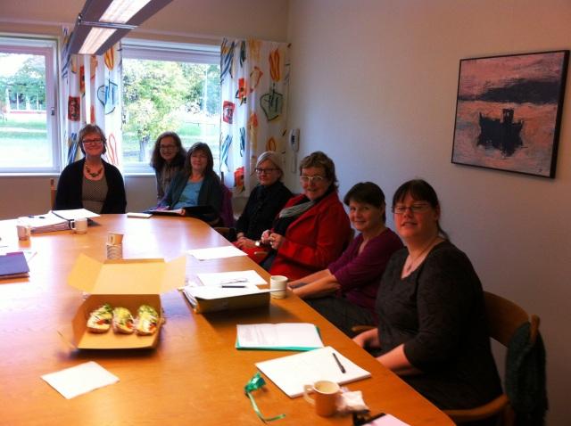 Bild på arbetsgruppen Digidel i Mönsterås.