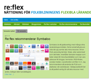 reflex rekommenderar